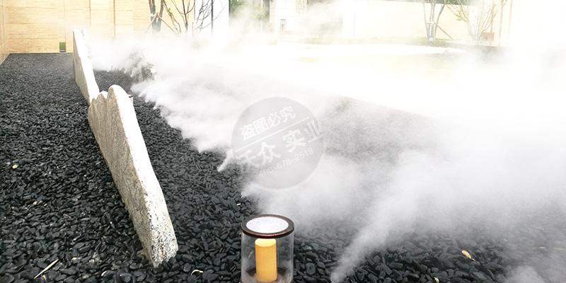 九和府小区人造雾系统