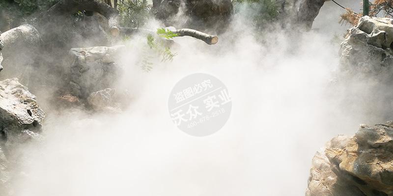 碧桂园小区雾森系统