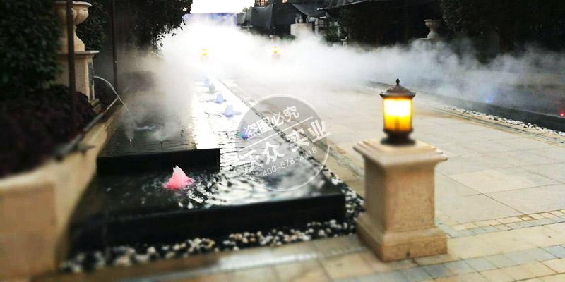 新蔡北湖壹号雾森系统