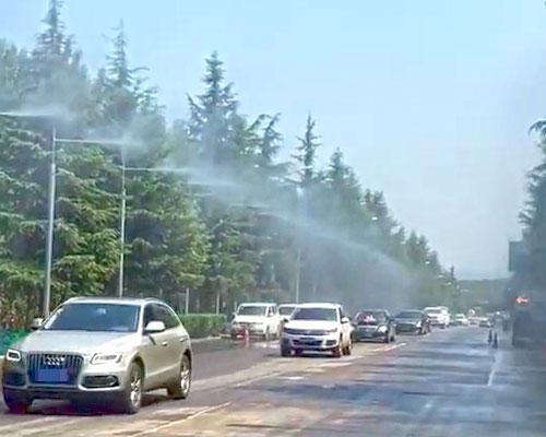 公路高空雨雾除尘设备