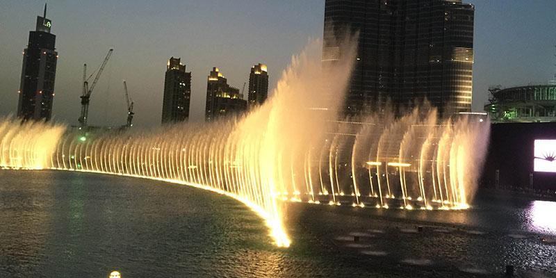 大型音乐喷泉水景