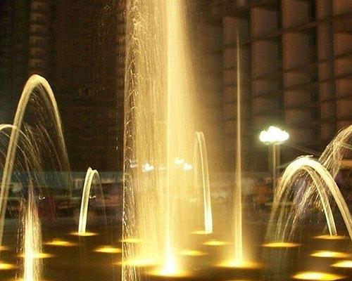 波光喷泉科技水景